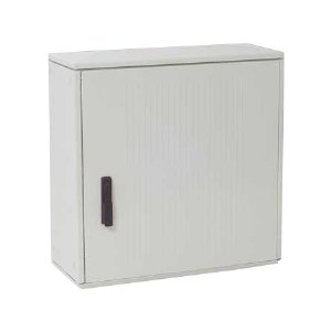 Armoire Polyester renforce 1000X750X300 mm IP55, IK10,960° C, Gris RAL 7035 IDE