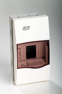 coffret lectrique vide encastrer 650 c ip 40 1 rang e 4 modules france. Black Bedroom Furniture Sets. Home Design Ideas