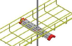 suspension centrale omega 300 de chemin de cable france. Black Bedroom Furniture Sets. Home Design Ideas