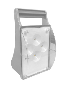 BAPI LED Bloc Autonome Portable d'Intervention,100 Lumens, IP44, IK08, LP100 LED