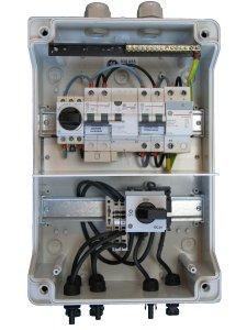 coffret de protection photovoltaique alternatif et continu www france. Black Bedroom Furniture Sets. Home Design Ideas